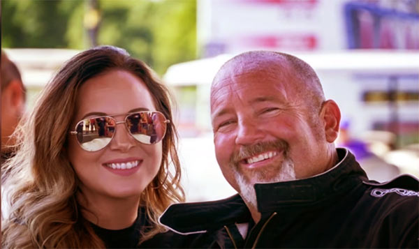 Image of Chuck Seitsinger with his girlfriend Elisa Noelle