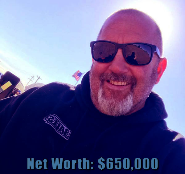 Image of Street Outlaws cast Chuck Seitsinger net worth is $650,000