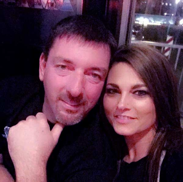 Image of Daddy Dave with his wife Cassie Comstock