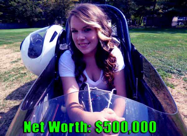 Image of Street Outlaws cast Jackie Braasch net worth is $500,000