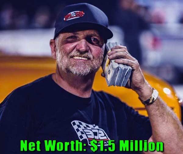 Image of Street Outlaws cast Jeff Lutz net worth is $1.5 million