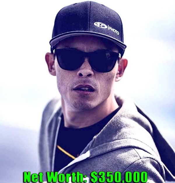 Image of Street Outlaws cast Jeffery Bonnett aka AZN net worth is $350,000