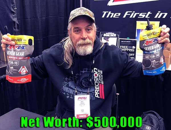 Image of Street Outlaws cast Monza net worth is $500,000
