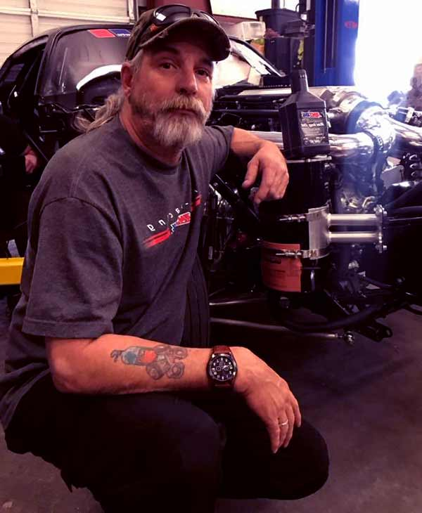 Image of Jerry Johnson aka Monza from Street Outlaws show