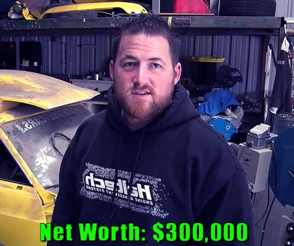 Image of Street Outlaws cast Kamikaze net worth is $300,000