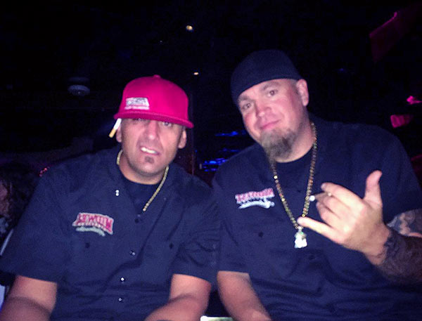 "Image of Murder Nova with Big Chief (left) from popular podcast called, ""The Chief and Shawn show"""
