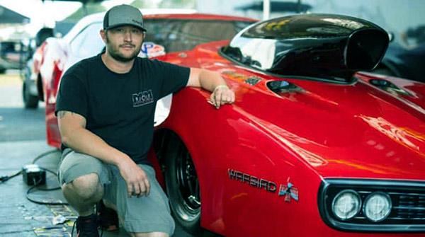 Image of Street racer Kye Kelley with car